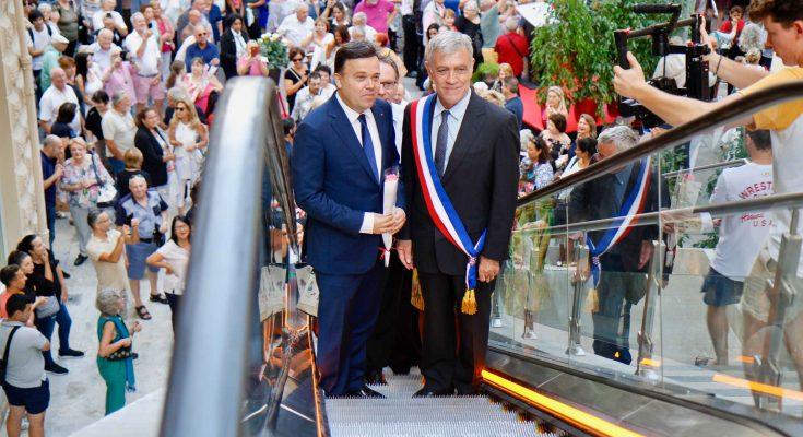 В Босолее открывают новые эскалаторы